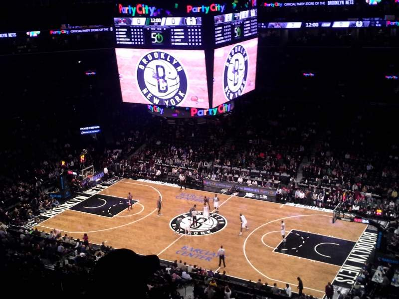Seating view for Barclays Center Section 222 Row 6 Seat 2
