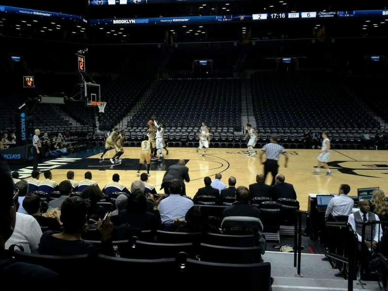 Seating view for Barclays Center Section 9 Row 6 Seat 2