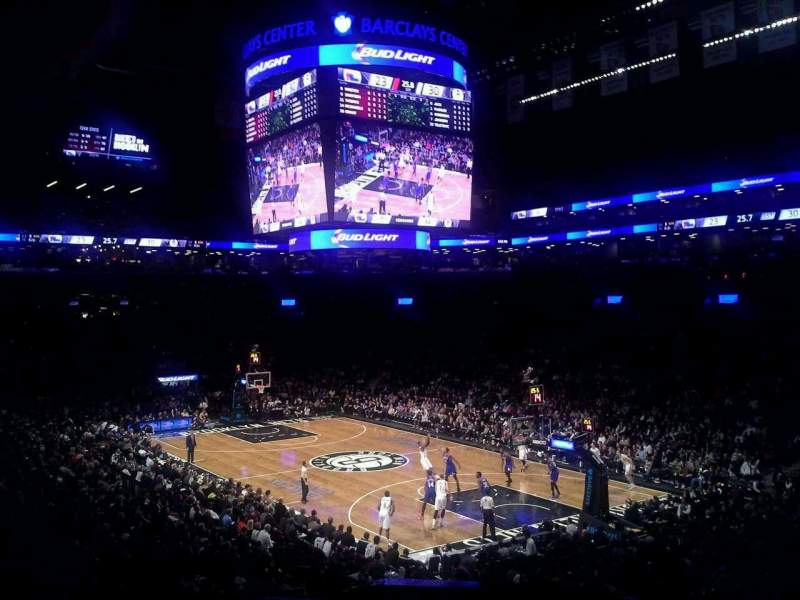 Seating view for Barclays Center Section 104 Row 4 Seat 1