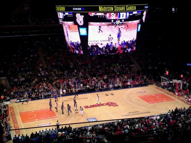 Seating view for Madison Square Garden Section 209 Row 14 Seat 22