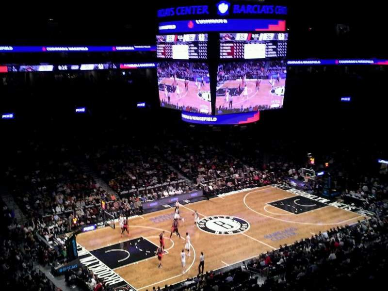 Seating view for Barclays Center Section 228 Row 5 Seat 1