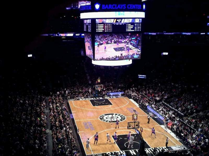 Seating view for Barclays Center Section 217 Row 5 Seat 26