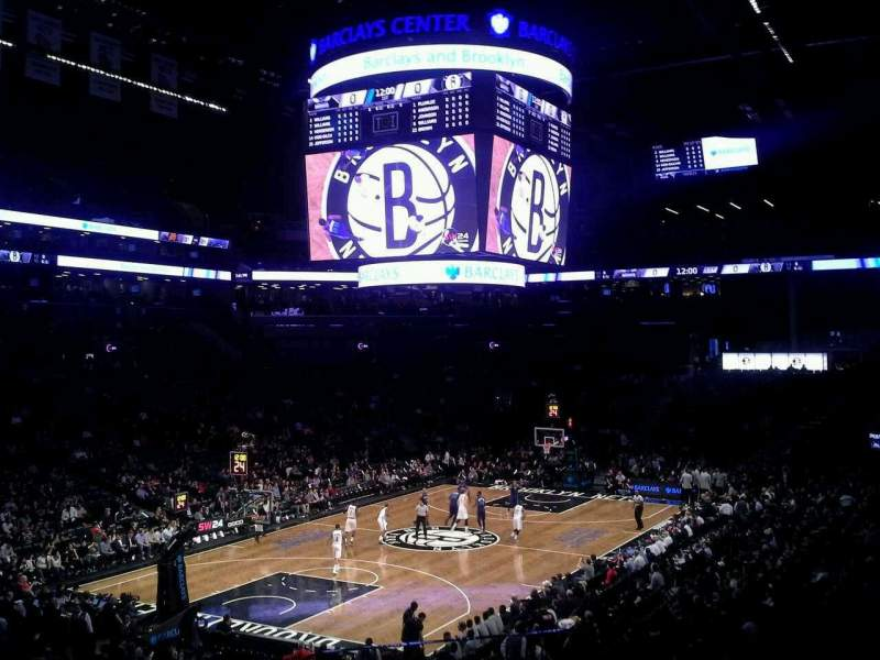 Seating view for Barclays Center Section 114 Row 4 Seat 2