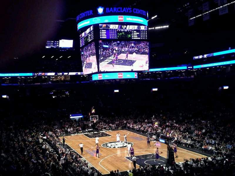 Seating view for Barclays Center Section 102 Row 6 Seat 1