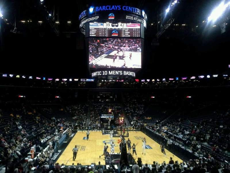 Seating view for Barclays Center Section 1 Row 20 Seat 1