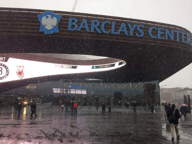 Seating view for Barclays Center Section Main Entrance