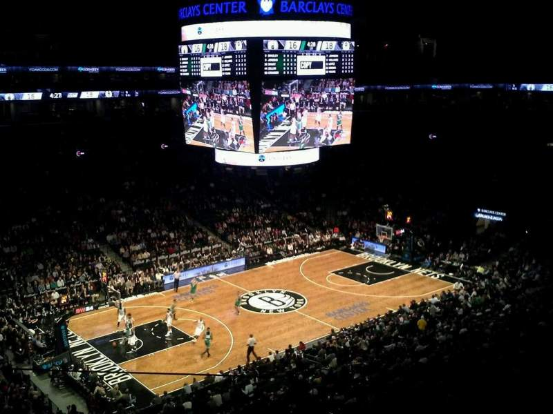 Seating view for Barclays Center Section 228 Row 3 Seat 1