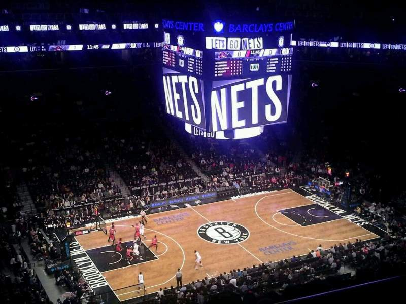 Barclays Center, section: 227, row: 11, seat: 1