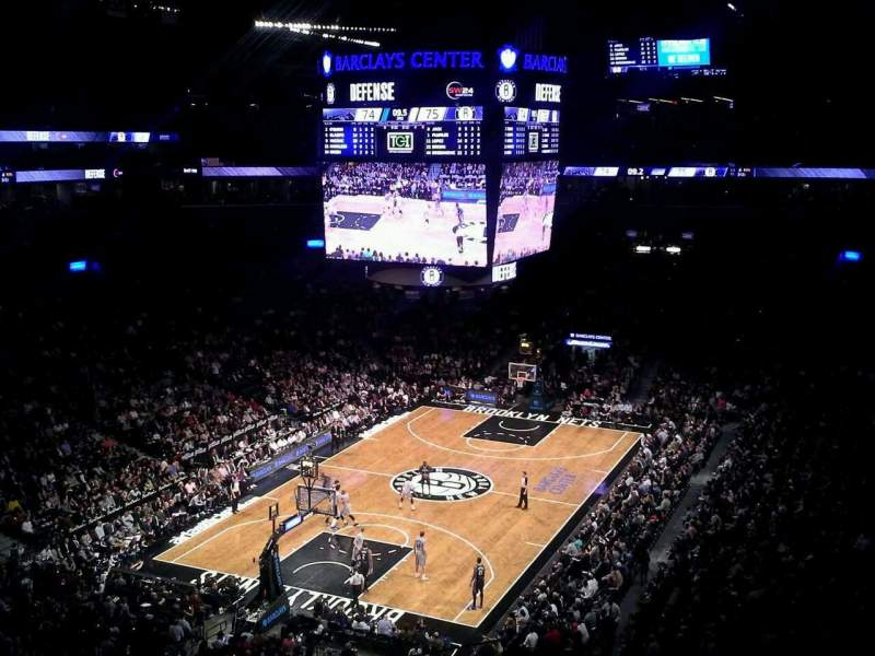 Seating view for Barclays Center Section 230 Row 4 Seat 1