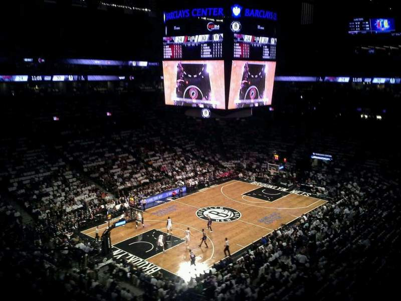 Seating view for Barclays Center Section 228 Row 2 Seat 24