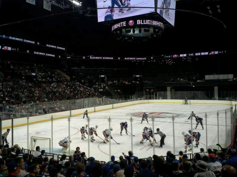 Seating view for Barclays Center Section 13 Row 13 Seat 17