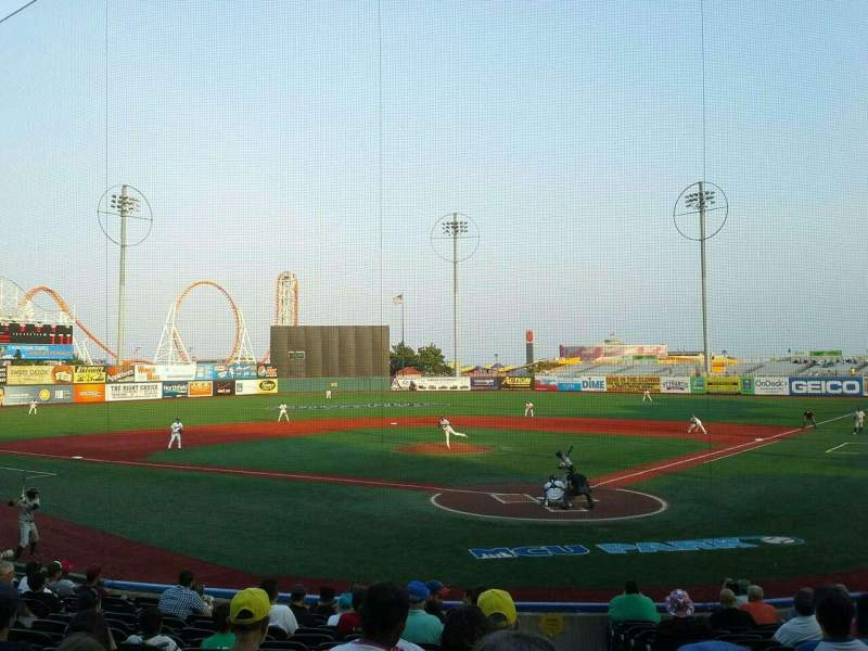 Seating view for MCU Park Section 3 Row O Seat 1