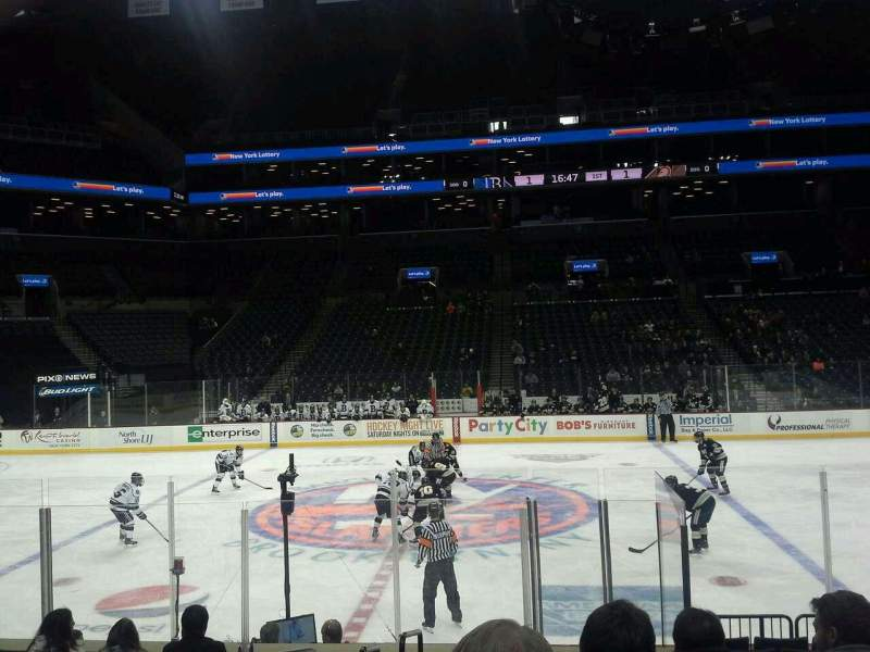 Seating view for Barclays Center Section 24 Row 11 Seat 18