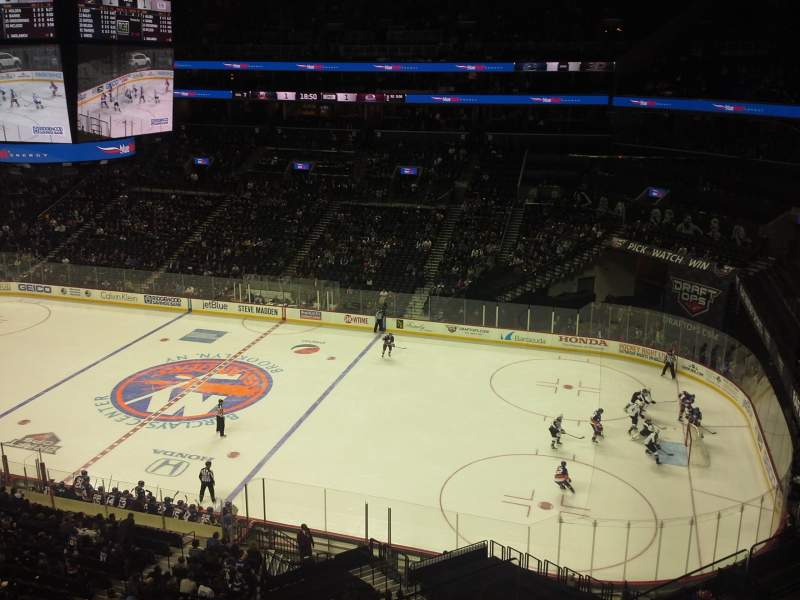 Seating view for Barclays Center Section 204 Row 2 Seat 24