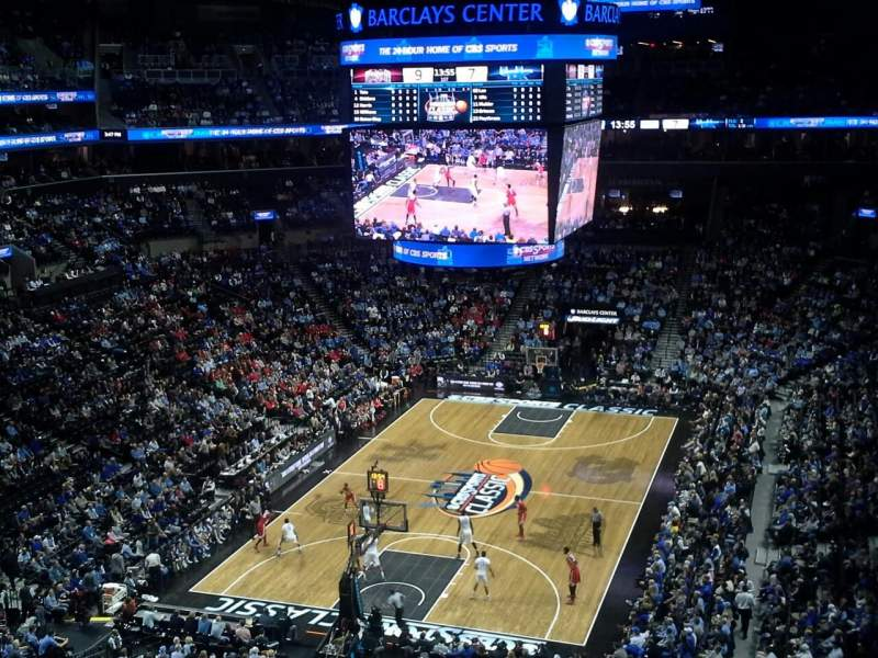Seating view for Barclays Center Section 230 Row 6 Seat 17