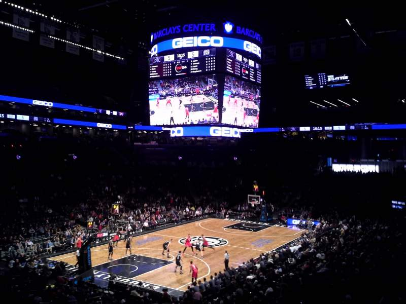 Seating view for Barclays Center Section 112 Row 5 Seat 15