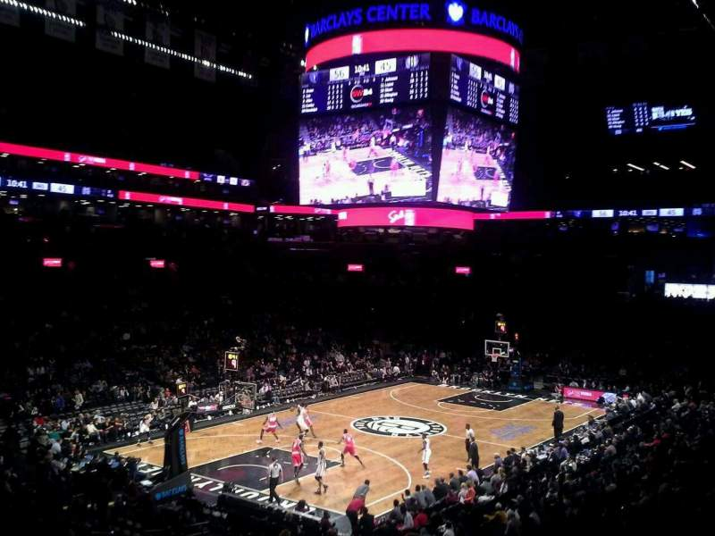 Seating view for Barclays Center Section 112 Row 6 Seat 15