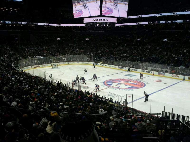Seating view for Barclays Center Section 105 Row 7 Seat 1
