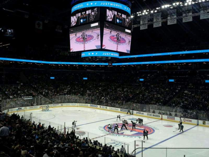 Seating view for Barclays Center Section 105 Row 4 Seat 1
