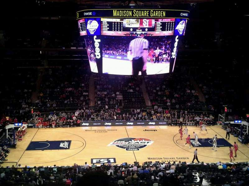 Seating view for Madison Square Garden Section 224 Row 6 Seat 1