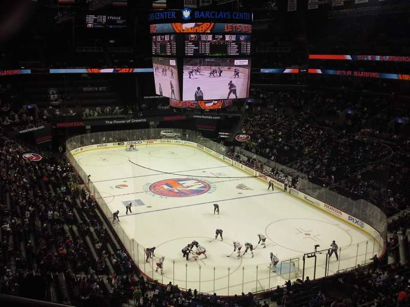 Seating view for Barclays Center Section 218 Row 4 Seat 14