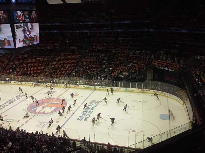 Seating view for Barclays Center Section 204 Row 7 Seat 24