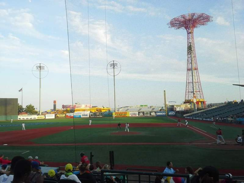 Seating view for MCU Park Section 7 Seat 1