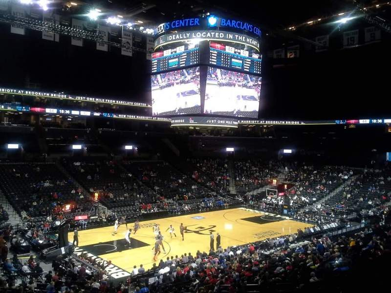 Seating view for Barclays Center Section 111 Row 7 Seat 18