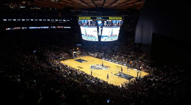 Seating view for Madison Square Garden Section 227 Row 11 Seat 17