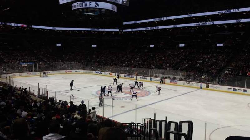 Seating view for Barclays Center Section 4 Row 19 Seat 1