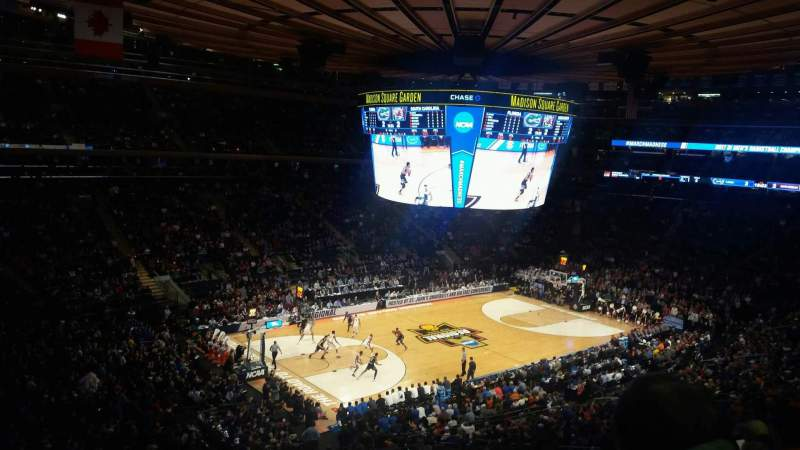 Madison Square Garden, section: 208, row: 5, seat: 7