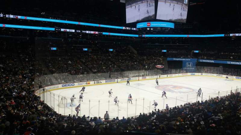 Barclays Center, section: 112, row: 6, seat: 1