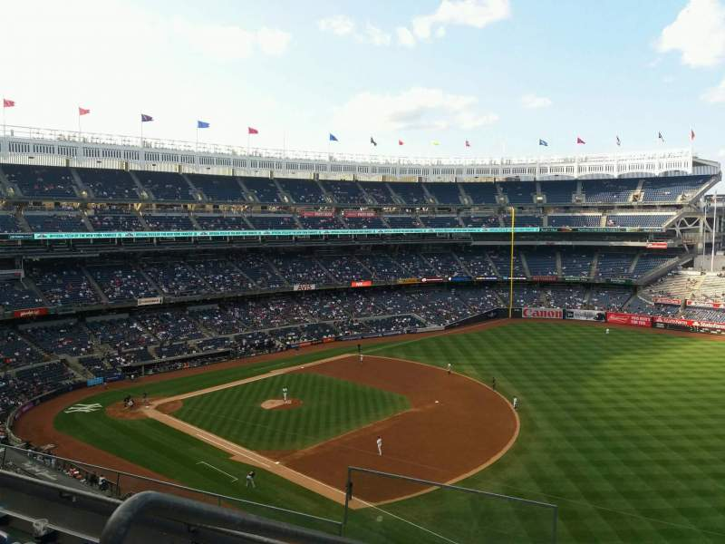 Seating view for Yankee Stadium Section 312 Row 4 Seat 17