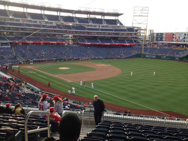 Seating view for Nationals Park Section 229 Row L Seat 19