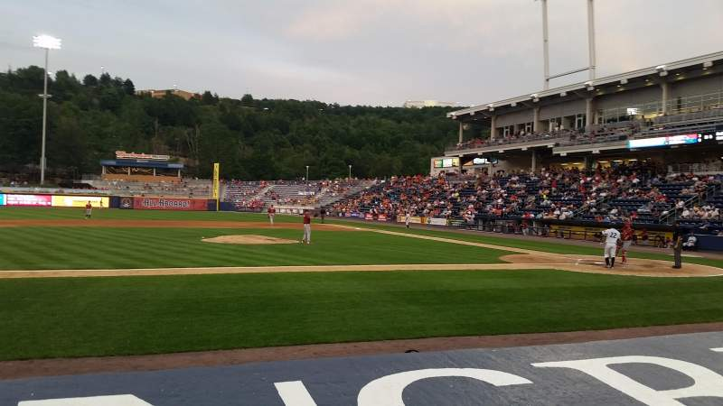 Seating view for PNC Field Section 25 Row 4 Seat 11