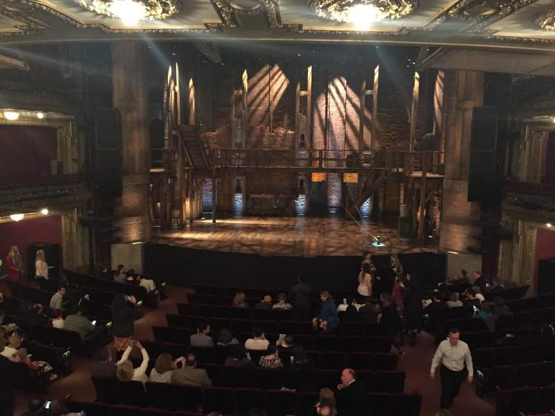 Seating view for CIBC Theatre Section Dress Circle C Row A Seat 208