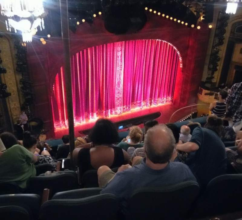 Seating view for Shubert Theatre Section Balcony Row G Seat 15