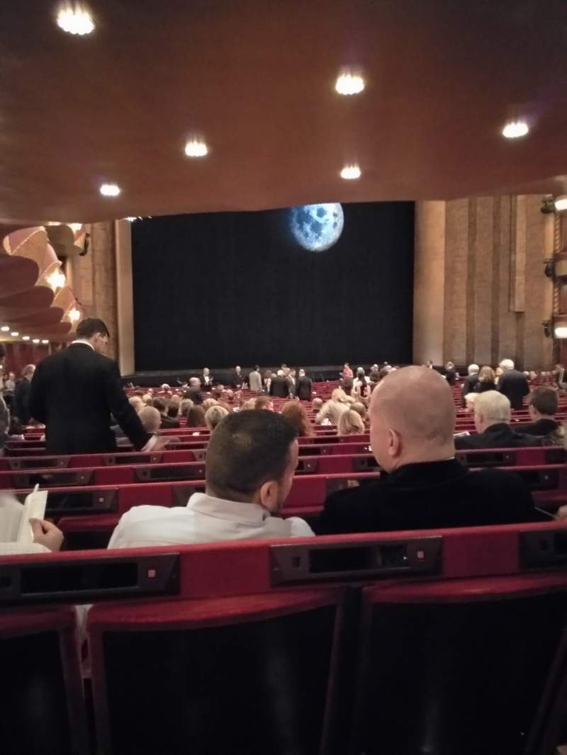 Seating view for Metropolitan Opera House - Lincoln Center Section Orchestra Row CC Seat 29