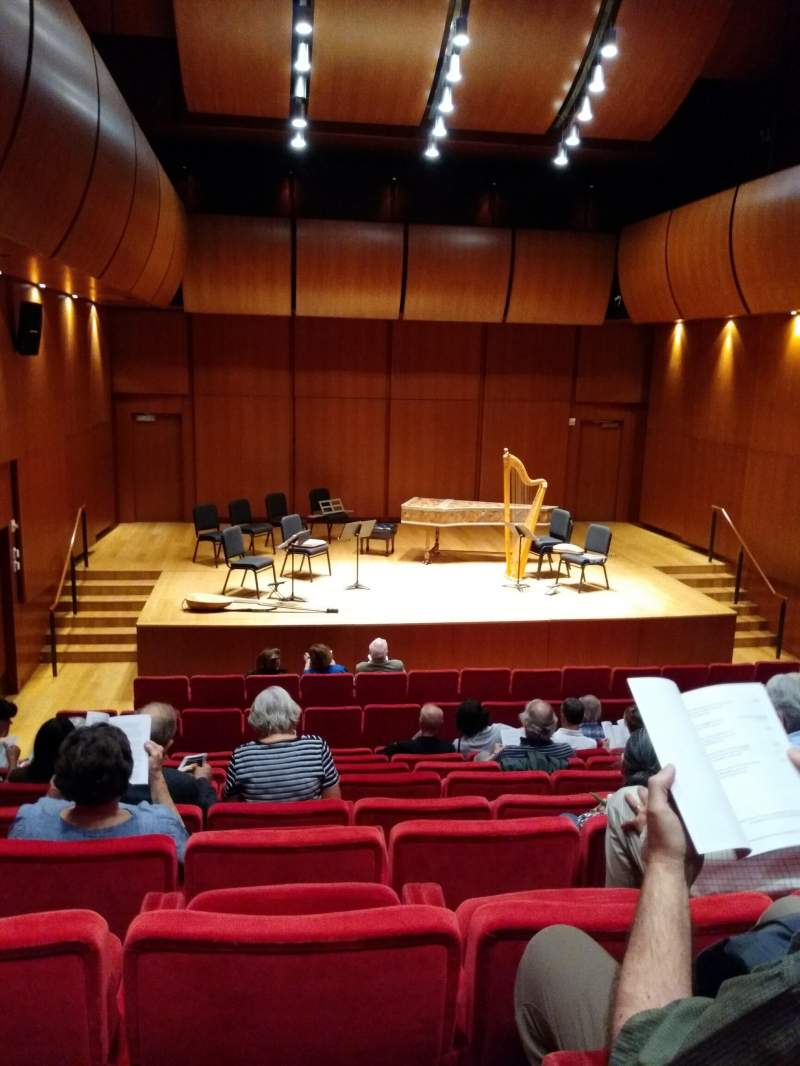 Seating view for Gilder Lehrman Hall Section Orchestra Row H Seat 4