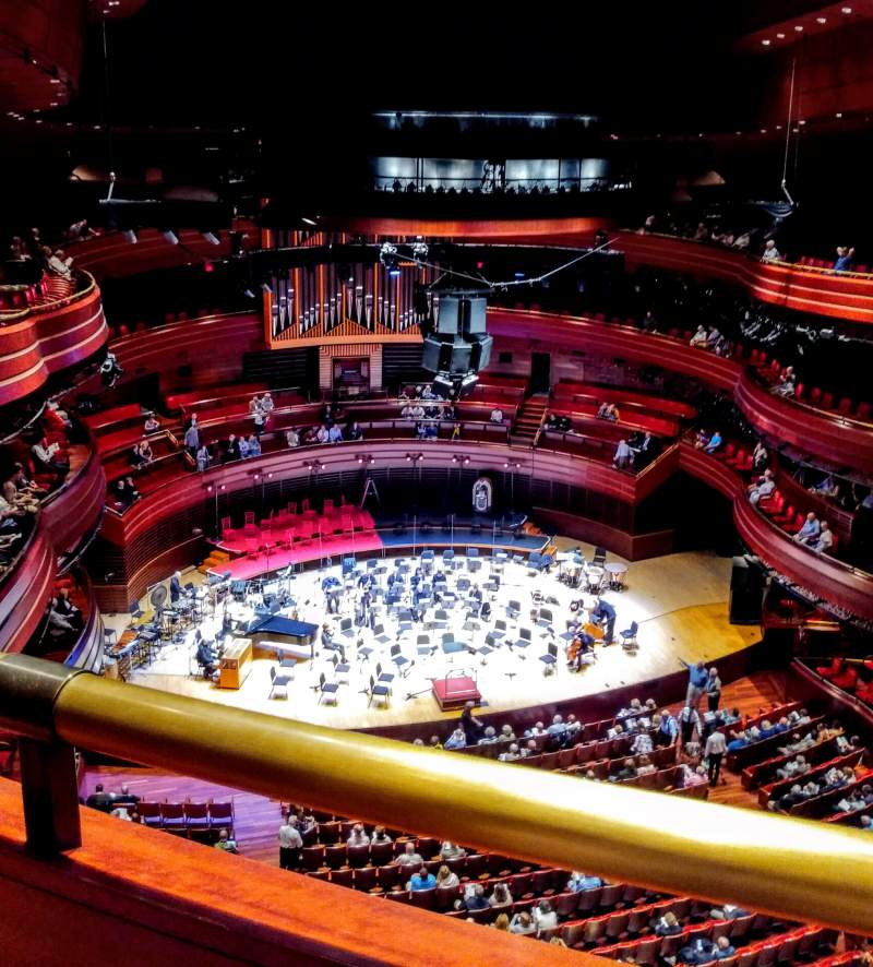 Seating view for Verizon Hall at the Kimmel Center Section Tier 3 Row A Seat 139