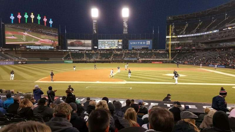 Guaranteed Rate Field, section: 138, row: 15, seat: 7