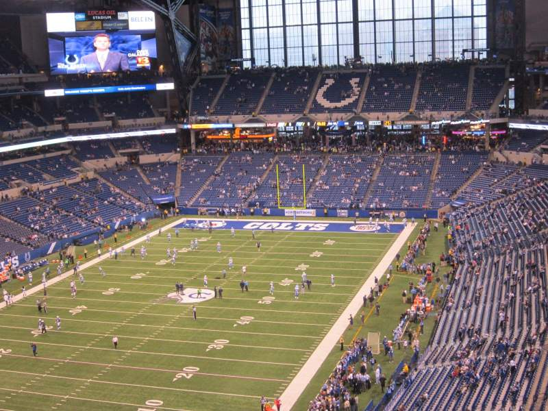 Seating view for Lucas Oil Stadium Section 624 Row 8 Seat 11