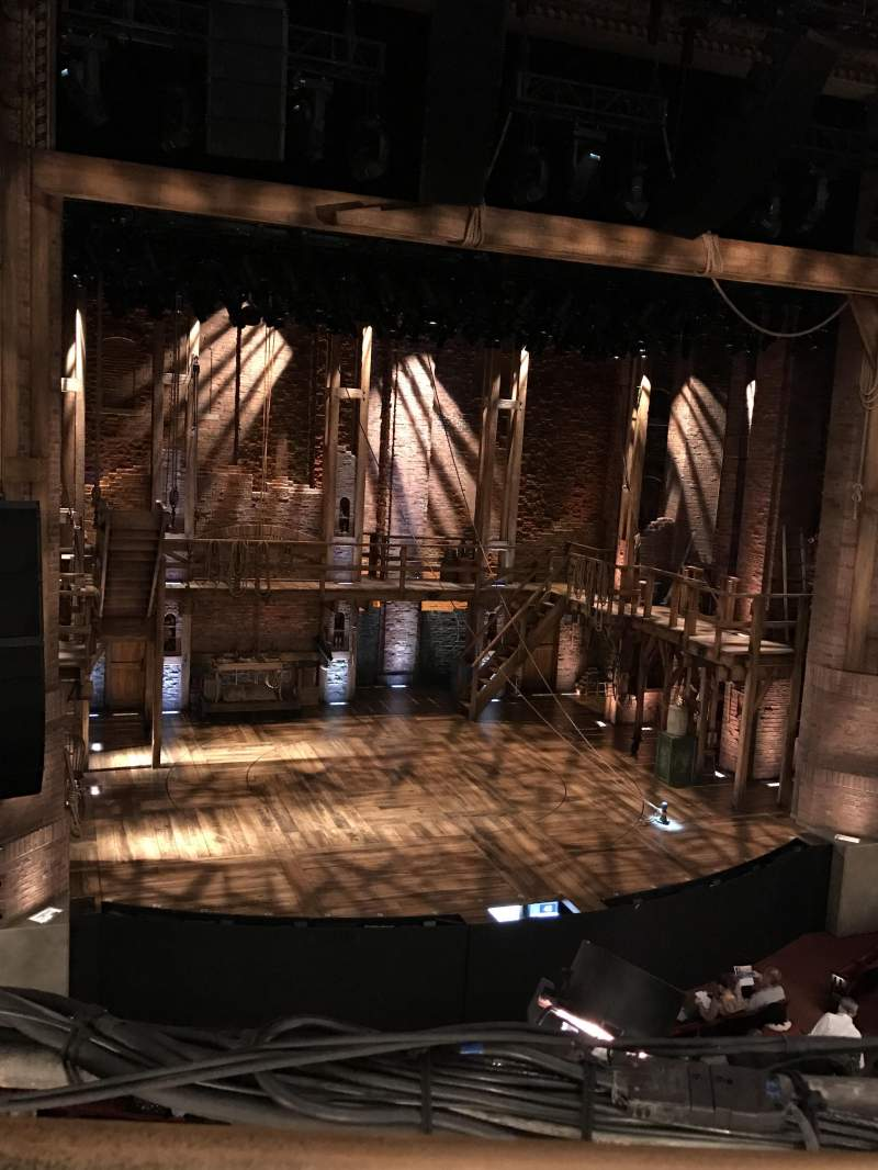 Seating view for CIBC Theatre Section Mezzanine LC Row A Seat 321