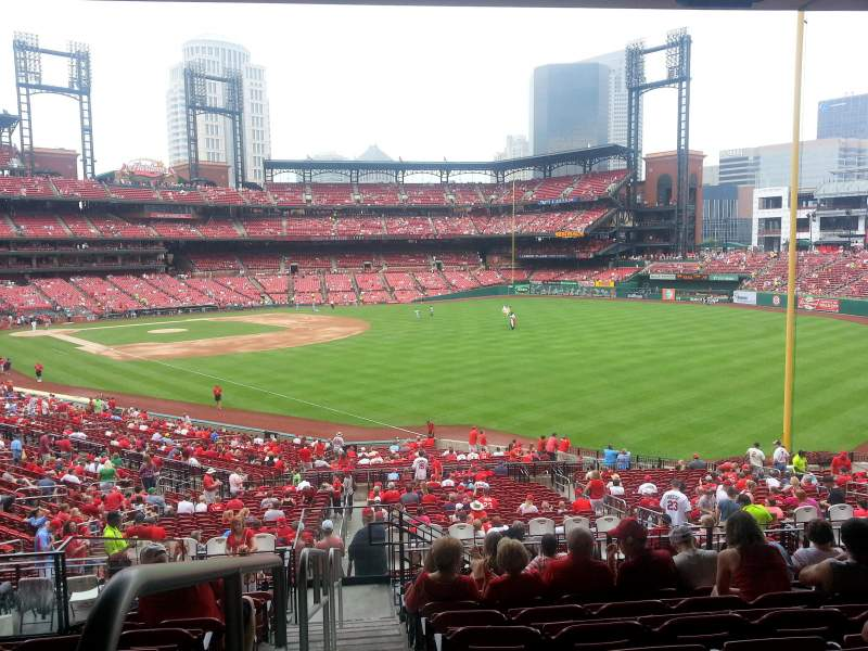 Seating view for Busch Stadium Section 133 Row 29 Seat 29
