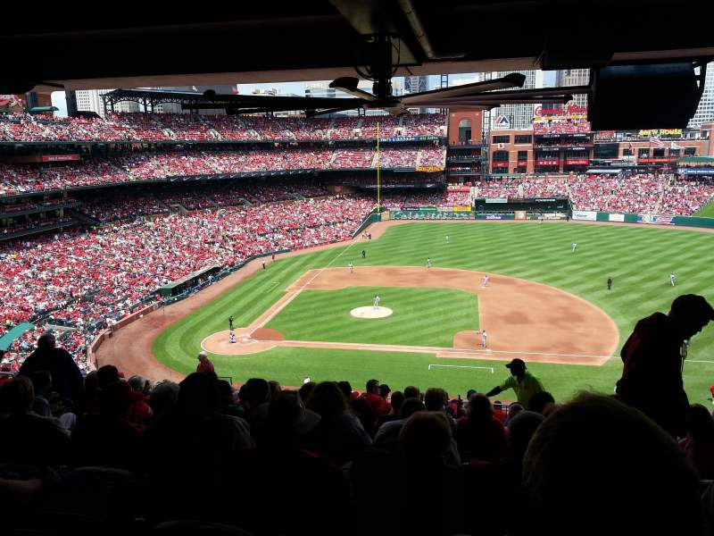 Seating view for Busch Stadium Section 244 Row 15 Seat 12