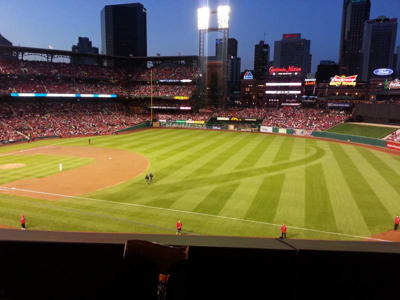 Seating view for Busch Stadium  Section 239 Row 1 Seat 6