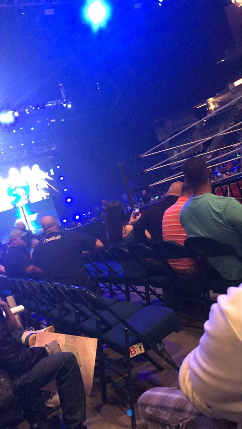 Seating view for Coliseo De Puerto Rico Section 5 Row B Seat 9