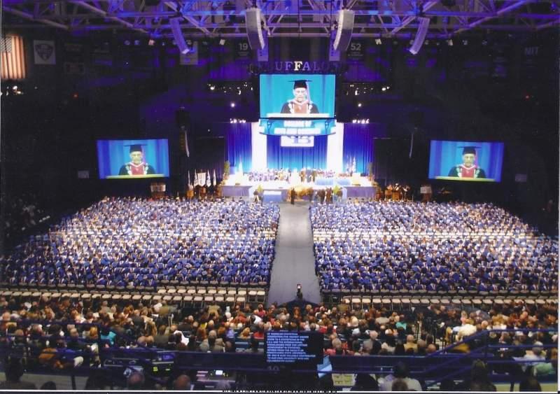 Alumni Arena (University at Buffalo), section: General Admission