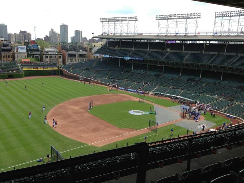 Seating view for Wrigley Field Section 509 Row 4 Seat 5