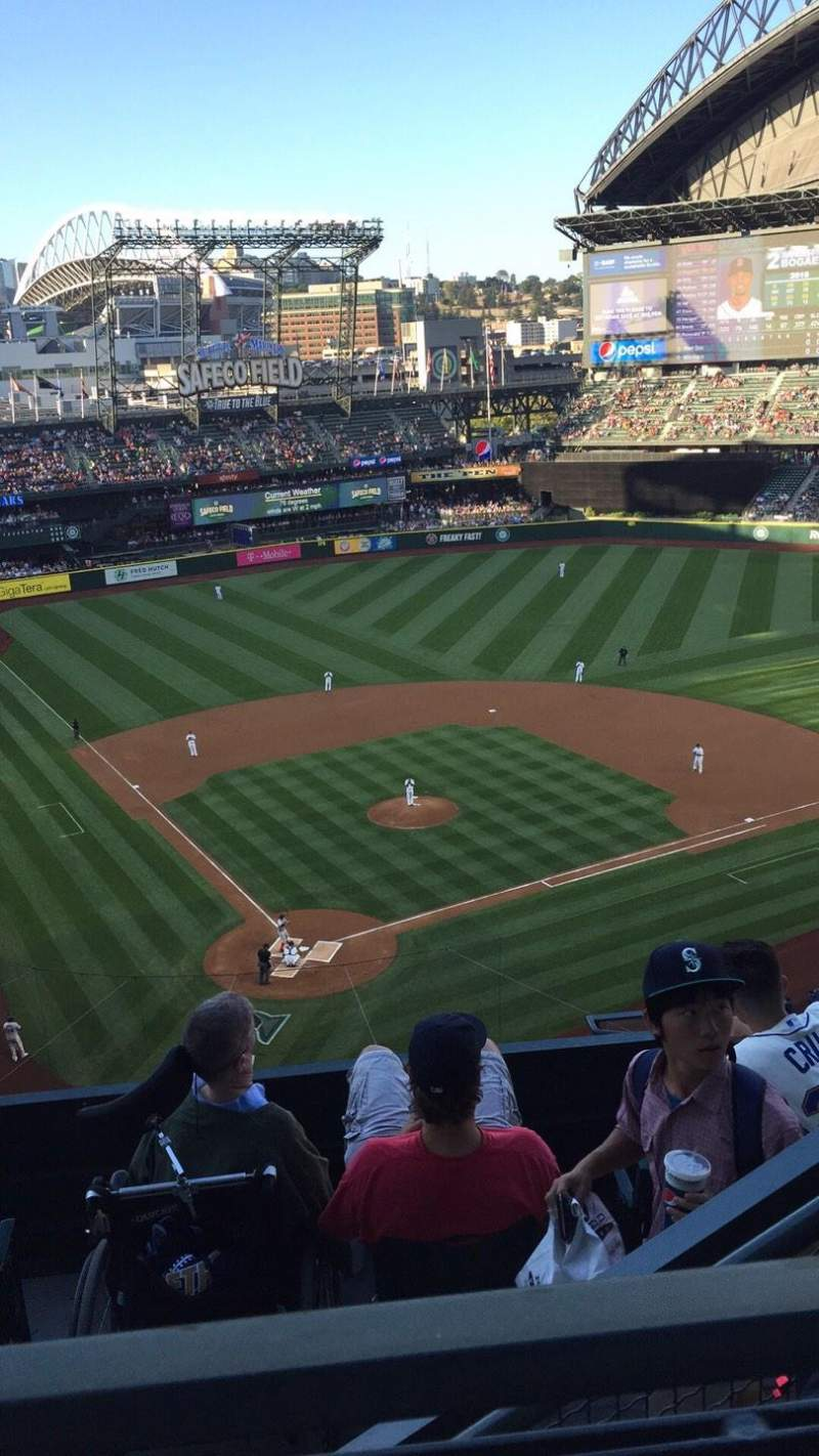 Seating view for Safeco Field Section 328 Row 9 Seat 5